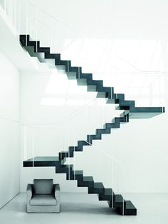 Designed by Piero Lissoni #stairs #architecture