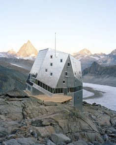 #architecture #mountains #hut