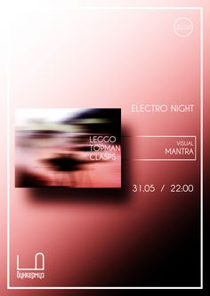 electro night #leggo #poster #music #gradient #japan #party