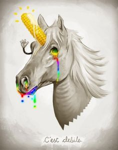 SirMitchell #poster #unicorn #art