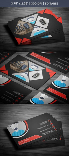 Free Awesome Photography Business Card Template
