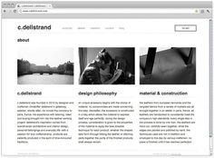 Daniel Bär Graphic Design #corporate #leather #modernist #web #typography