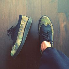 napoleonfour #camo #shoes #camouflage #brogues