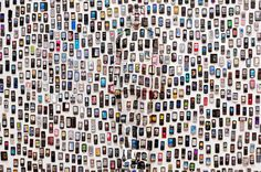 "Image of Liu Bolin ""Hiding in the City"" Exhibition @ Galerie Paris Beijing #bravo #paris #bolin #camouflage #liu #hide #hiding #epic"