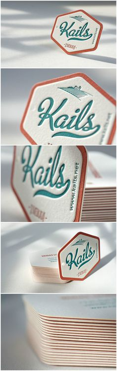Letterpress Business Card - Hangtag. Designed and printed by Elegante Press http://www.elegantepress.com #letterpress #businesscard #hangtag