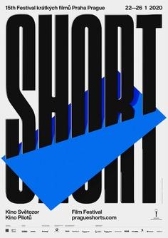 15th Prague Short Film Festival – visual identity