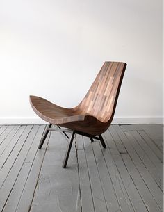 Bellboy : 12 x 12 NYC #wood #design #bellboy #chair