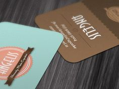 Dribbble - Angelis - Business Card by Ney Ricardo #business #card #angelis #branding