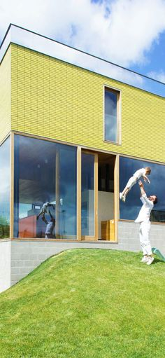 Kevin House in Haaltert, Belgium, Atelier Vens Vanbelle 10