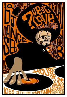 ?uestlove in House of Blues, San Diego 2/3/2006 Scrojo