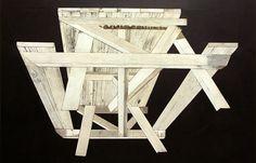 Michael Zelehoski #wood #sculpture #bench #art