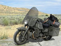 Salvage / RatBike thread! Put 'em here! ADVrider #matte #rough #rat #bike #survival #motorcycle #green