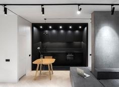 Lipky Twins Studio Apartments Design by PAINTIT - InteriorZine