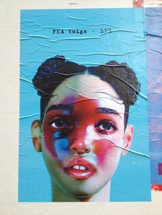 FKA Twigs #album #face #poster