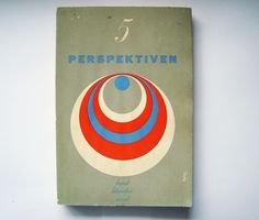alvin lustig. perspektiven. perspectives « 80 #book #book cover #cover #circle #alvin lustig