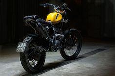 YAMAHA XT600 BY SARTORIE MECCANICHE #moto #yamaha