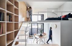 Muzha Micro Flat, Phoebe Sayswow Architects