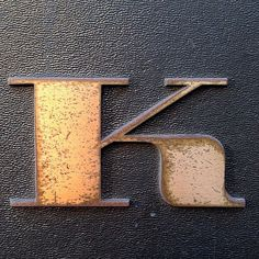 All sizes | This K knows what's up #typography | Flickr Photo Sharing!
