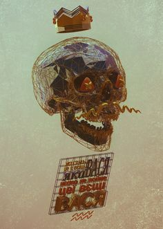 life #life #skull #poster