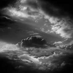 Wolken on the Behance Network #clouds #wind #white #sky #black #photography #storm #atmosphere #and