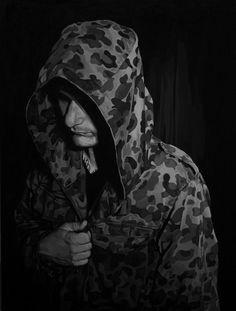 Rebecca Adams | PICDIT #painting #black #white #art