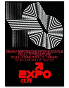 grain edit · Mimmo Castellano: Posters and Packaging #castellano #expo #mimmo #1975 #poster