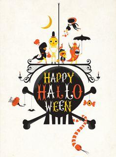 Happy Halloween Andrew Banencker #type #character #halloween