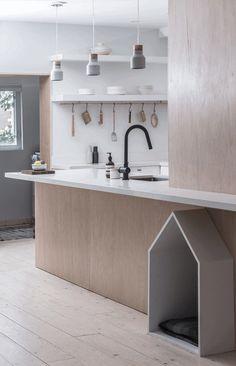 Small Toronto Renovation by Studio AC: Sheridan Residence 1