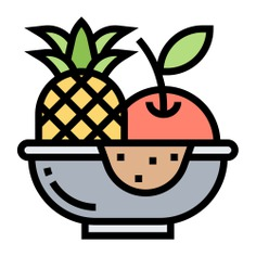 See more icon inspiration related to fruit, food, diet, vegan, food and restaurant, organic, healthy food, vegetarian, vegetables and fruits on Flaticon.