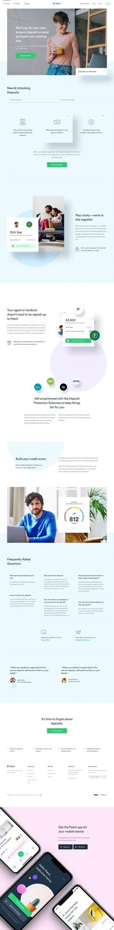 Patch – Tenant Landing Page by Filip Justić