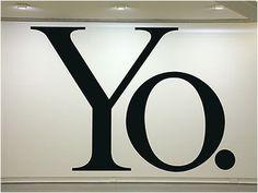 haim-steinbach-yo-2004.jpg (400×300) #haim #white #word #steinbach #black #art #and #typography