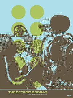 The Detroit Cobras - Gig Poster
