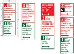 NYC Parking Signs Hamish Smyth Design #signage