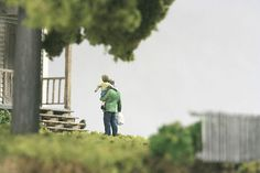thomas doyle worlds 02 #miniature #diorama #house #art