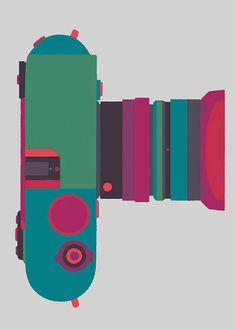 Basilicas print series by Adrian Johnson celebrates classic cameras
