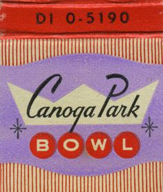 All sizes | Canoga Park Bowl | Flickr Photo Sharing! #illustration