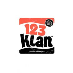 123klan #klan #illustration #123 #typography