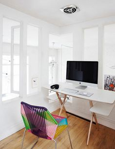 Minimal Desks Simple workspaces, interior design #desk #minimal #workspace