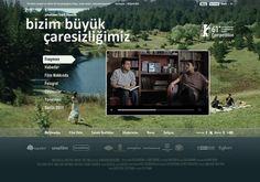'Our Grand Despair' movie website on Web Design Served #vcvcvbb