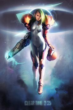 Samus aran wakkawa illustration #samus aran #metroid #videogames #illustration wakkawa