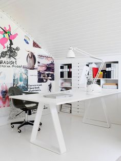Workspace {white on white}