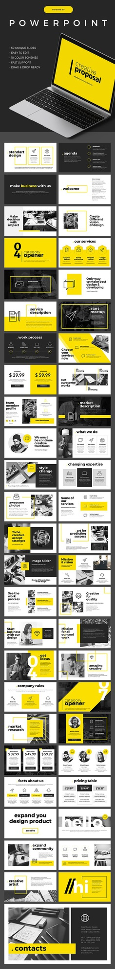 Business Powerpoint Template - Business PowerPoint Templates