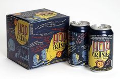Hop Crisis Imperial IPA #packaging #beer #identity