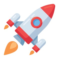See more icon inspiration related to rocket, startup, transport, space ship, rocket launch, rocket ship, seo and web and space ship launch on Flaticon.