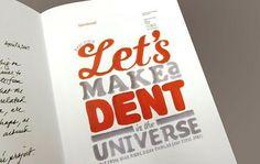 Typography / Interbrand #handwritten #bold #typography