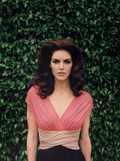Hilary Rhoda by Venetia Scott for Paule Ka Spring Campaign #model #girl #campaign #photography #portrait #fashion #editorial #beauty