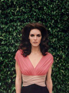 Hilary Rhoda by Venetia Scott for Paule Ka Spring Campaign #campaign #photography #portrait #fashion #editorial #beauty