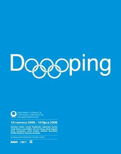 Doping : Hakobo Graphic Design #doping #design #graphic #poster #typography