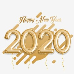 Happy New Year 2020 Golden Balloon - happy new year 2020,happy new year,happy new year 2020,happy new year 2020 background,happy new year 2020 decoration,happy new year 2020 design,happy new year 2020 images,happy new year 2020 quotes,happy new year 2020 wallpapers,happy new year 2020 wishes