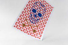 Mexico Limited Screen Print Poster #Poster #goldfoil #foil #posterdesign #skulls #skull #screenprint